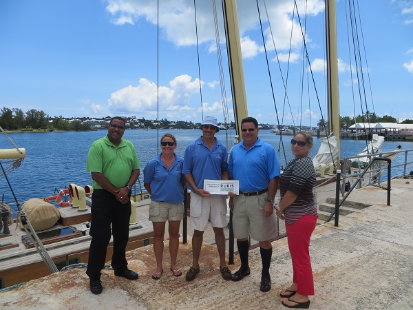 Spirit of Bermuda - Donation of Fuel for a Year - 2013 July