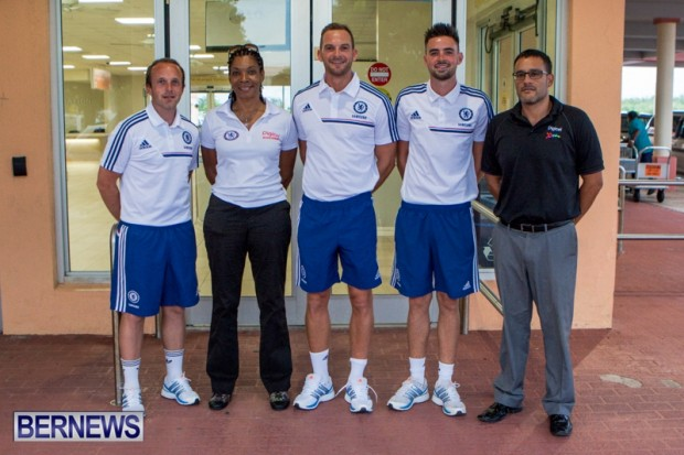 Digicel Bermuda Chelsea FC Coaches, August 29 2013-1-3