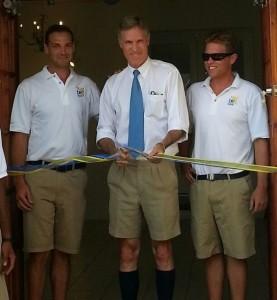Minister Gibbons opens Bermuda Engineering Solar Showroom