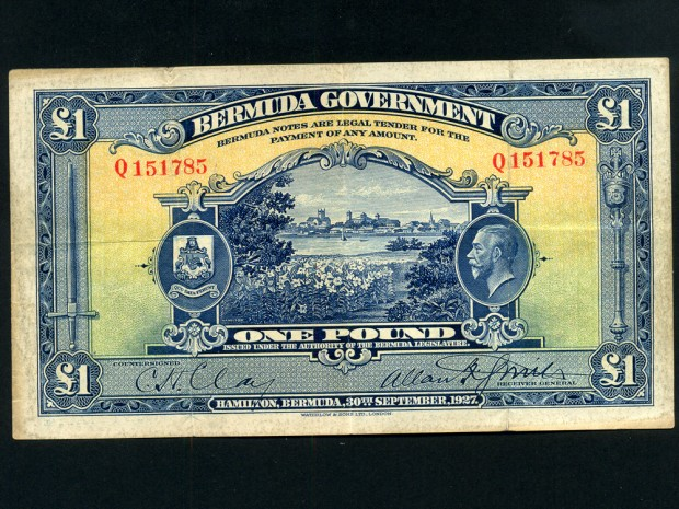 bermuda-pound-1927-king-george