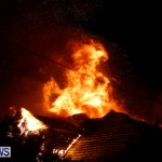 Cedar Avenue Structural Fire Bermuda, October 17, 2013-10