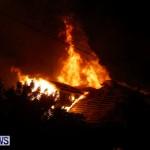 Cedar Avenue Structural Fire Bermuda, October 17, 2013-16