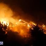 Cedar Avenue Structural Fire Bermuda, October 17, 2013-29