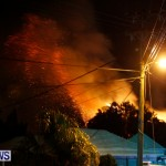 Cedar Avenue Structural Fire Bermuda, October 17, 2013-46