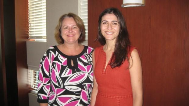 Alison Morrison and Sandra DeSilva