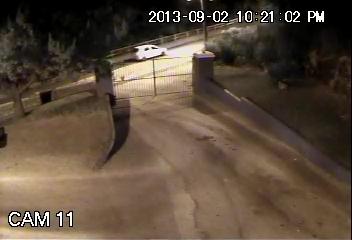 CCTV Image of Car  2