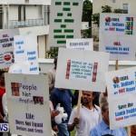 Lamb Foggo Urgent Care Centre Protest March Bermuda, November 22 2013-11