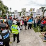 Lamb Foggo Urgent Care Centre Protest March Bermuda, November 22 2013-14