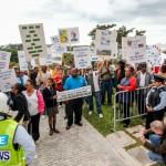 Lamb Foggo Urgent Care Centre Protest March Bermuda, November 22 2013-15