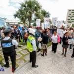 Lamb Foggo Urgent Care Centre Protest March Bermuda, November 22 2013-16