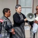 Lamb Foggo Urgent Care Centre Protest March Bermuda, November 22 2013-34