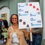Lamb Foggo Urgent Care Centre Protest March Bermuda, November 22 2013-4