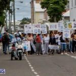 Lamb Foggo Urgent Care Centre Protest March Bermuda, November 22 2013-6