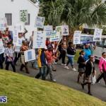 Lamb Foggo Urgent Care Centre Protest March Bermuda, November 22 2013-7