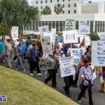 Lamb Foggo Urgent Care Centre Protest March Bermuda, November 22 2013-9