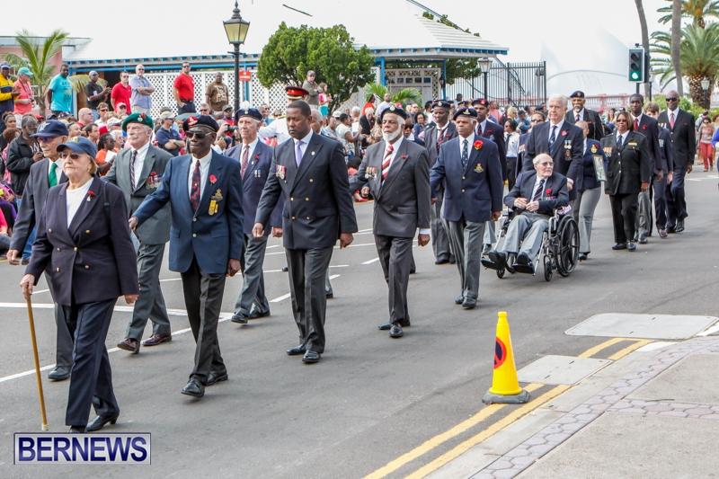 Remembrance Day  Bermuda, November 11 2013-20