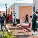 Remembrance Day Observed in St George's  Bermuda,November 7 2013-23