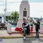 Remembrance Day Observed in St George's  Bermuda,November 7 2013-30