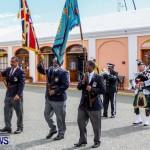 Remembrance Day Observed in St George's  Bermuda,November 7 2013-32
