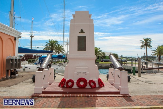 Remembrance Day Observed in St George's  Bermuda,November 7 2013-35