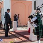 Remembrance Day Observed in St George's  Bermuda,November 7 2013-9