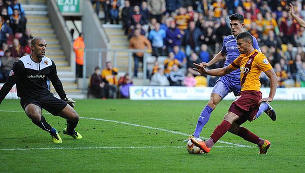 Bradford City V Wolves