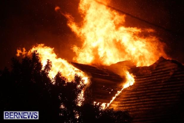 Cedar-Avenue-Structural-Fire-Bermuda-Oct