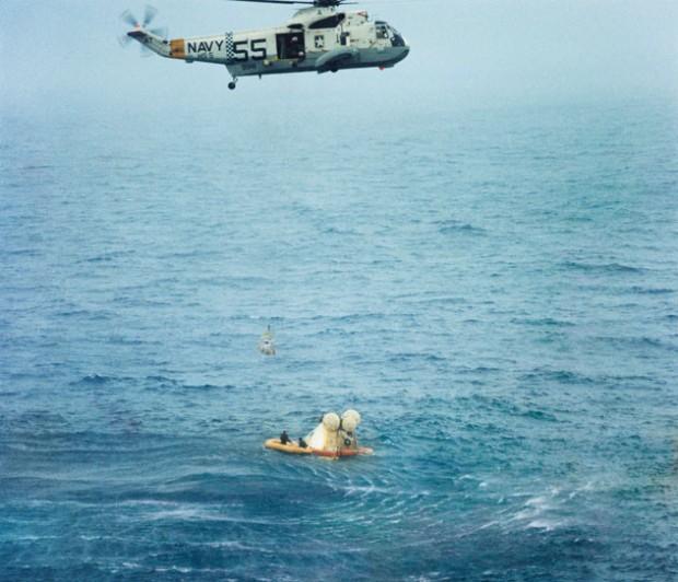 nasa apollo 7 1968 landing