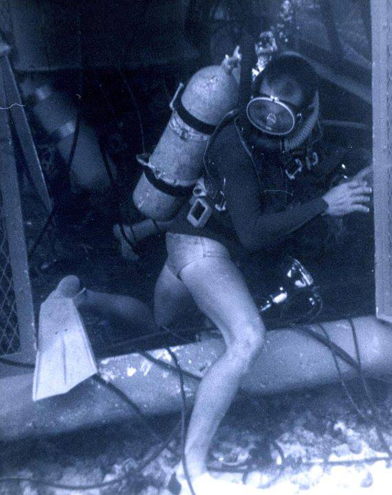 sealand 1 diver 1964