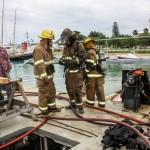 Boat Fire Bermuda, January 4 2014-21
