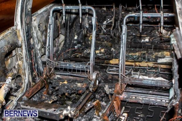 St David's Car Fire Bermuda, January 1 2014-6