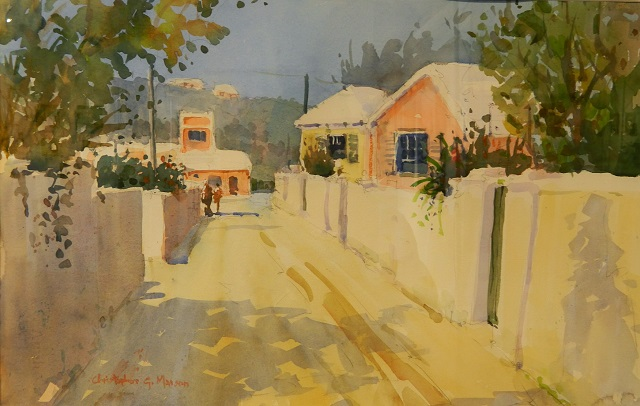 St. Georges' Morning Christopher Marson Water Colour