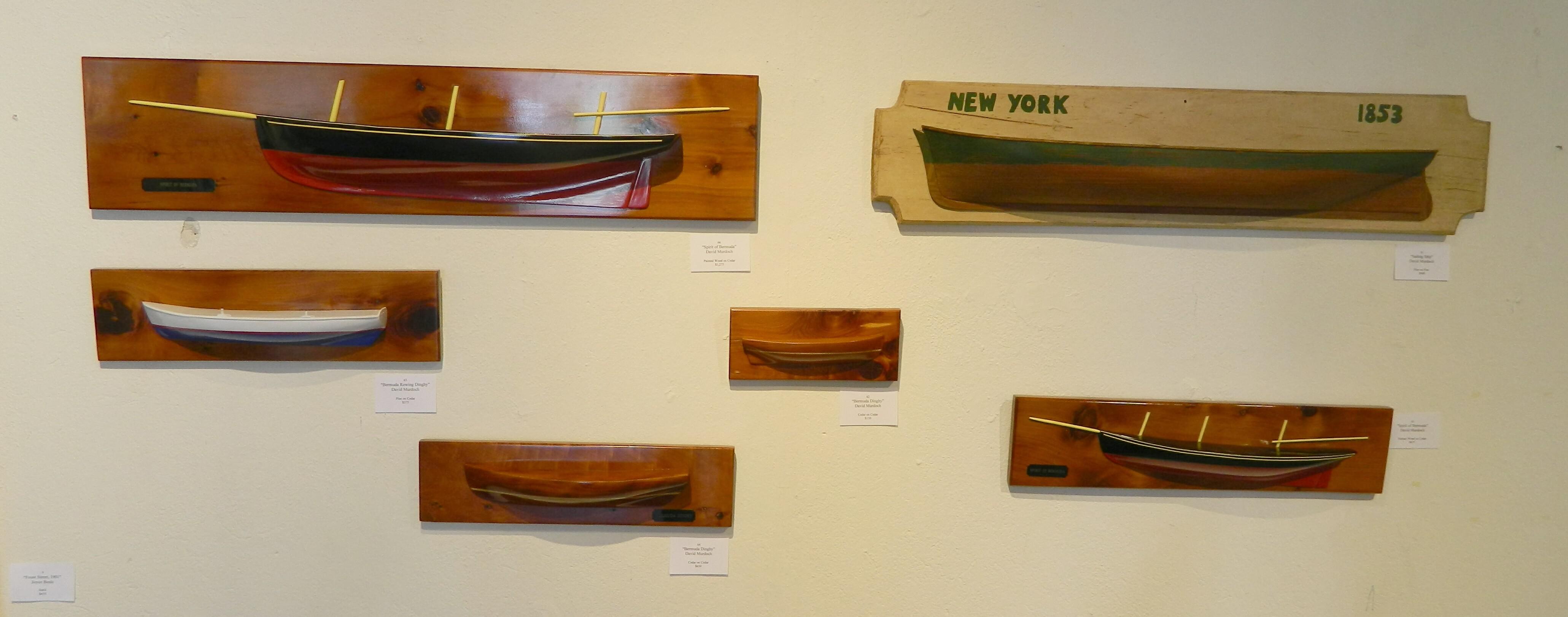 Various Cedar Ships David Murdoch