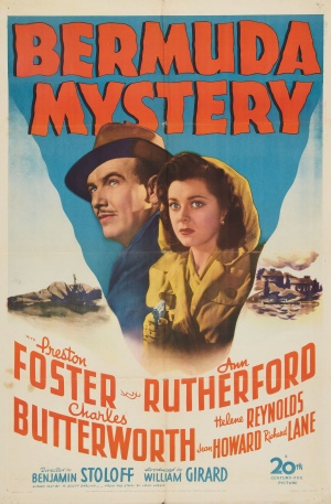 bermuda mystery movie poster 1944