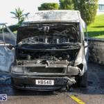 Shelly Bay Van Fire Bermuda, Feb 2 2014-5