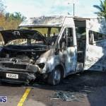 Shelly Bay Van Fire Bermuda, Feb 2 2014-6