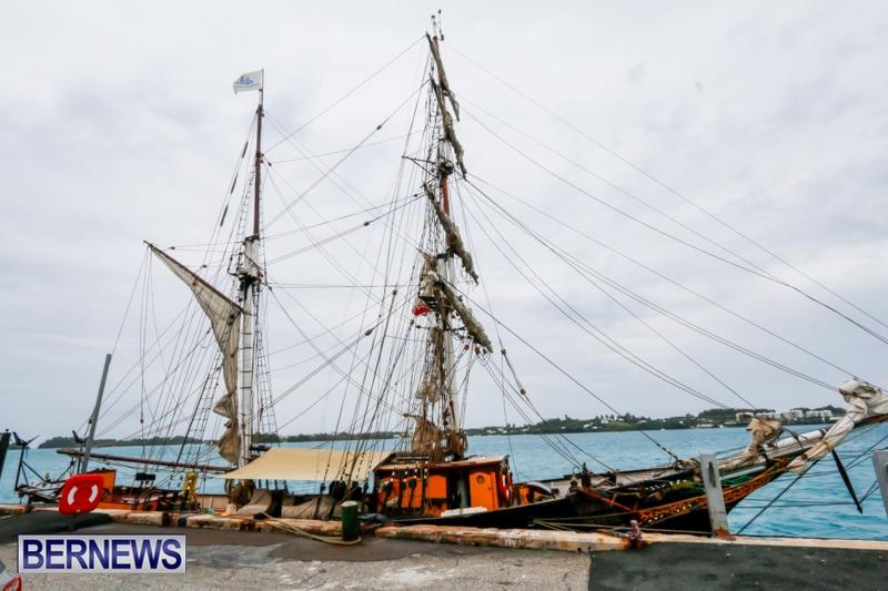 Tall Ship Schooner Brig Tres Hombres Bermuda, Feb 27 2014-1