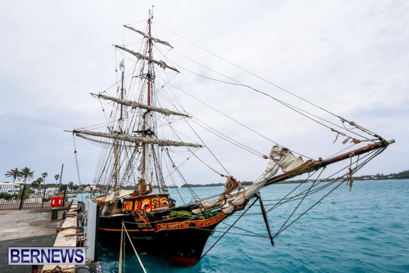 Tall Ship Schooner Brig Tres Hombres Bermuda, Feb 27 2014-2