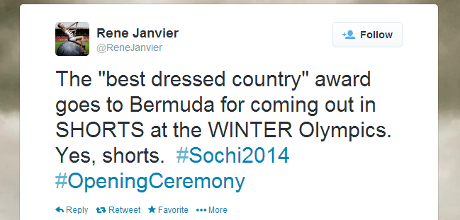 Twitter   ReneJanvier  The  best dressed country  ...