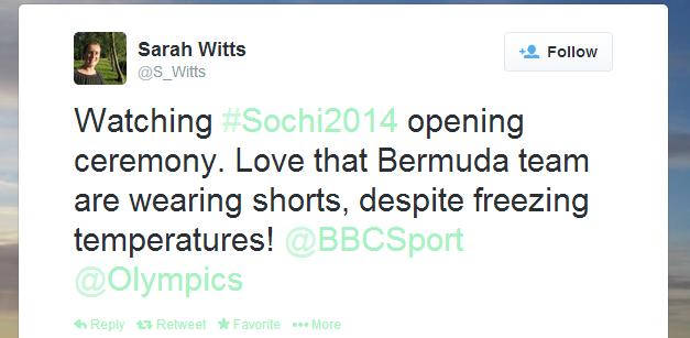 Twitter   S_Witts  Watching  Sochi2014 opening ...