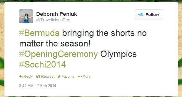 Twitter   TraveliciousDee   Bermuda bringing the shorts ...