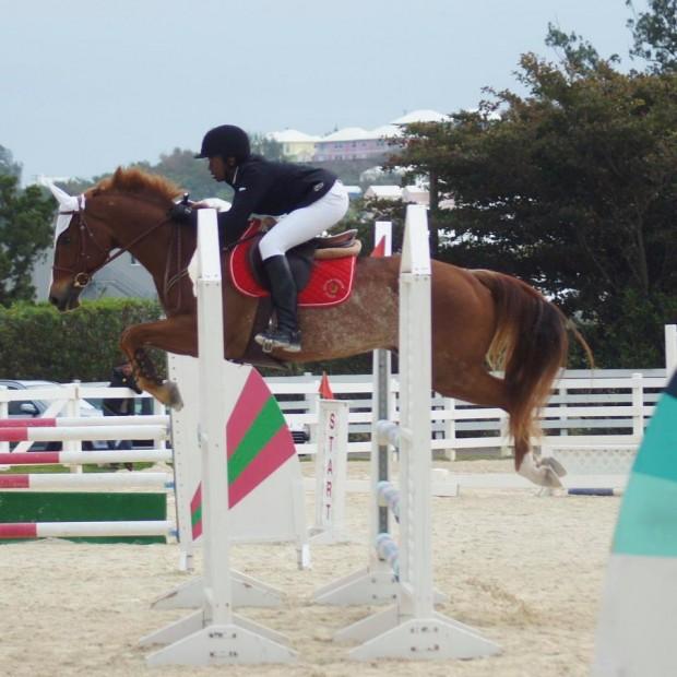 Bermuda equestrian Khaleb Tota (1)