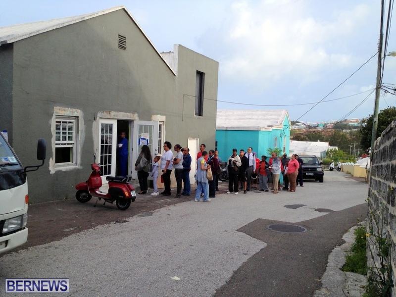 Cake shop line