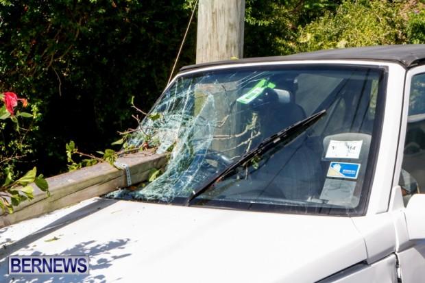 Car Accident Bermuda, April 19 2014-3