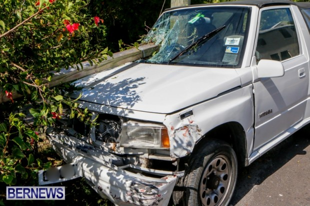 Car Accident Bermuda, April 19 2014-4