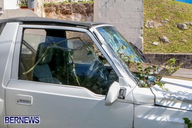 Car Accident Bermuda, April 19 2014-6