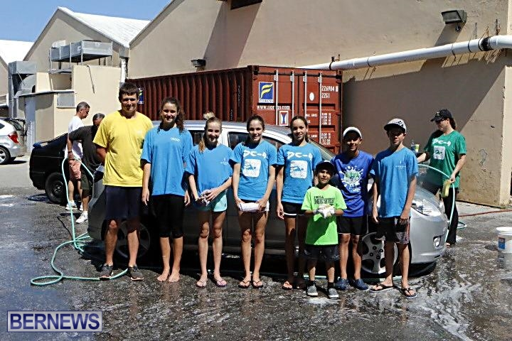 Carifta swimming car wash 2014 (1)