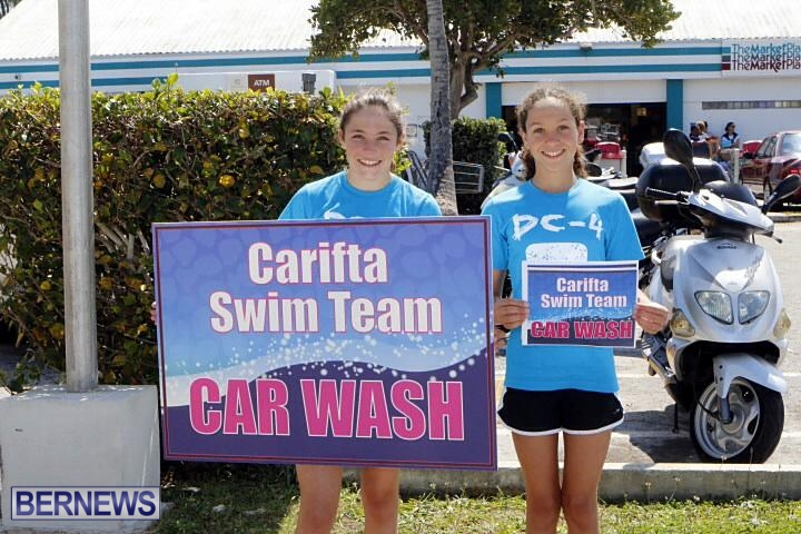 Carifta swimming car wash 2014 (2)