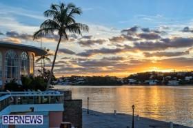Hamilton Princess Bermuda sunset