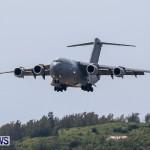 Royal Air Force C17 Emergency Plane Landing Bermuda, May 11 2014-10